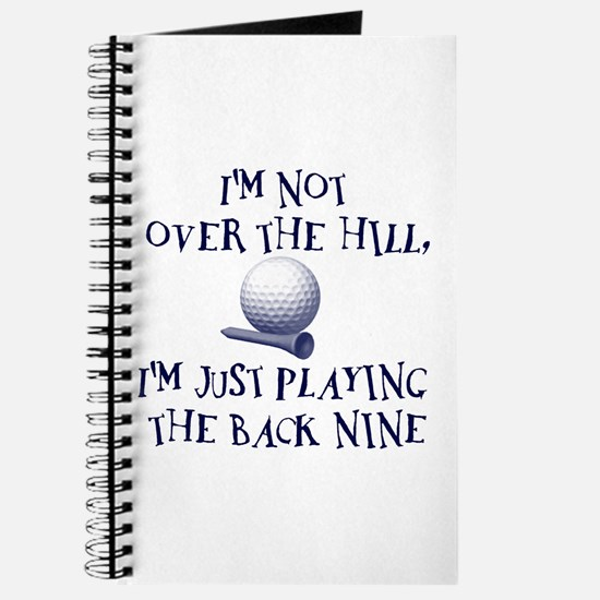 Just Playin' the Back Nine Journal