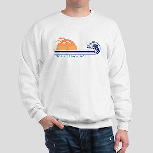 Topsail Beach NC Sweatshirt