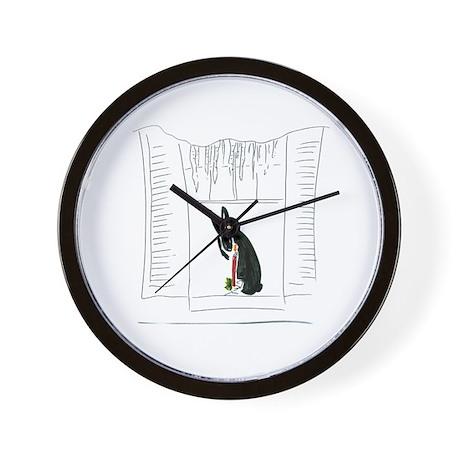 Christmas004 Wall Clock
