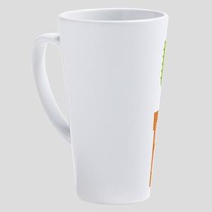 Kiss My Cactass 17 oz Latte Mug