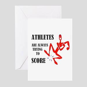 ATHLETES Greeting Cards (Pk of 20)