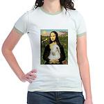 Mona / Tibetan T Jr. Ringer T-Shirt