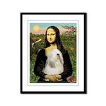Mona / Tibetan T Framed Panel Print