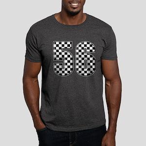 Checkered Number 56 Dark T-Shirt