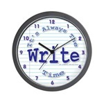The Write time Wall Clock