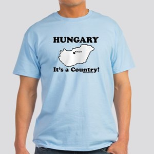 Hungary is a Country Light T-Shirt