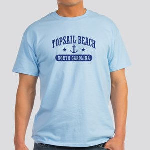 Topsail Beach NC Light T-Shirt