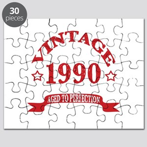 Vintage 1990 Aged To Perfection Puzzle