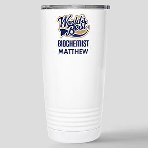 Personalized Biochemist (Worlds Best) Travel Mug