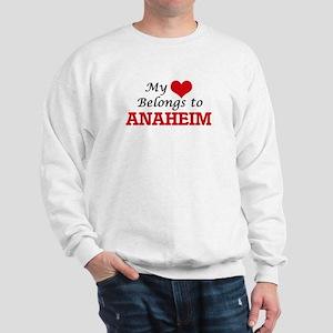My heart belongs to Anaheim California Sweatshirt