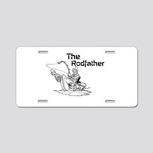 The Rodfather Aluminum License Plate