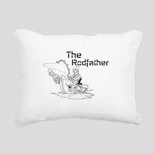 The Rodfather Rectangular Canvas Pillow