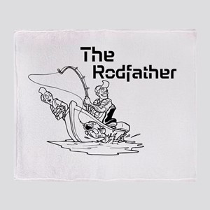 The Rodfather Throw Blanket