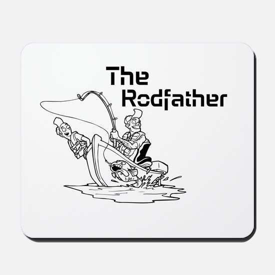 The Rodfather Mousepad