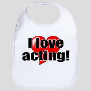 "ThMisc ""I Love Acting"" Bib"