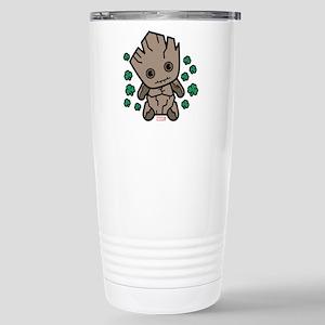 Groot Clovers 16 oz Stainless Steel Travel Mug