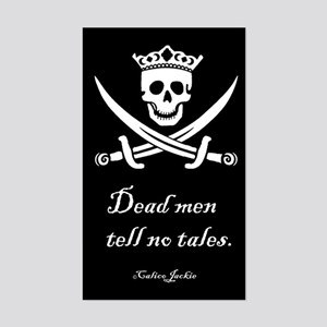No Tales Rectangle Sticker