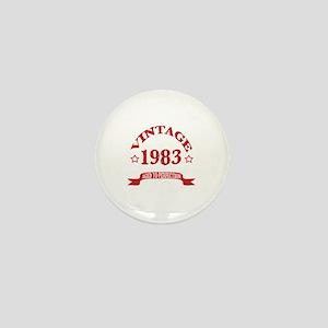 Vintage 1983 Aged To Perfection Mini Button