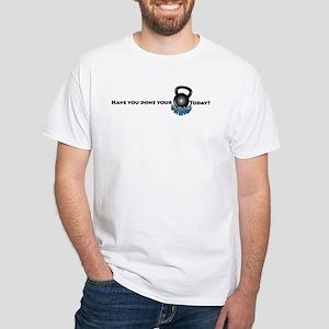 Swing Today? White T-Shirt
