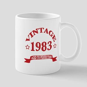 Vintage 1983 Aged To Perfection 11 oz Ceramic Mug