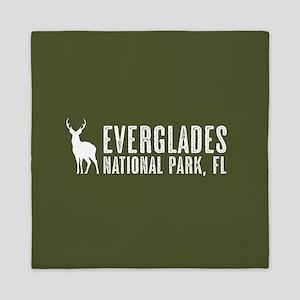 Deer: Everglades, Florida Queen Duvet