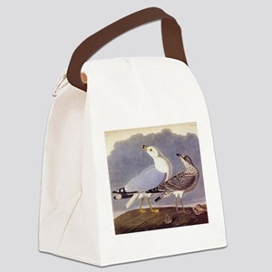 Common Sea Gull Vintage Audubon Birds Canvas Lunch