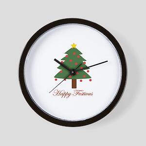 Happy FESTIVUS™ Wall Clock
