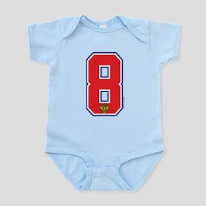 RU Russia/Rossiya Hockey8 Infant Bodysuit