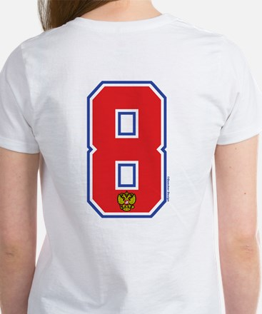 RU Russia/Rossiya Hockey8 Women's T-Shirt