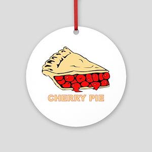 Cherry Pie Ornament (Round)
