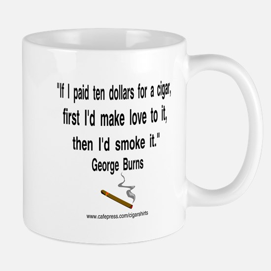 George Burns Cigar Quote 2 Mug