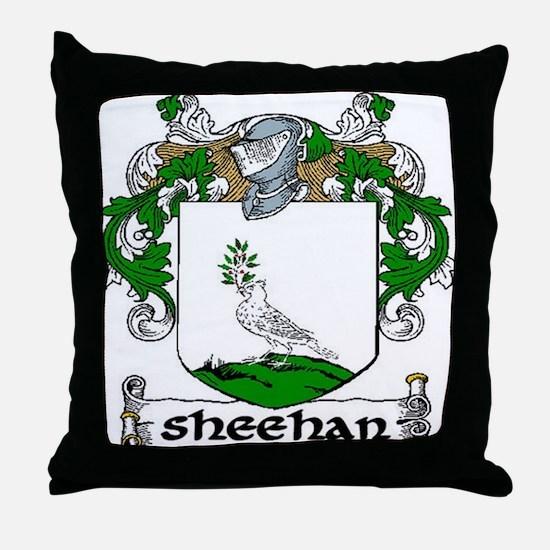 Sheehan Coat of Arms Throw Pillow