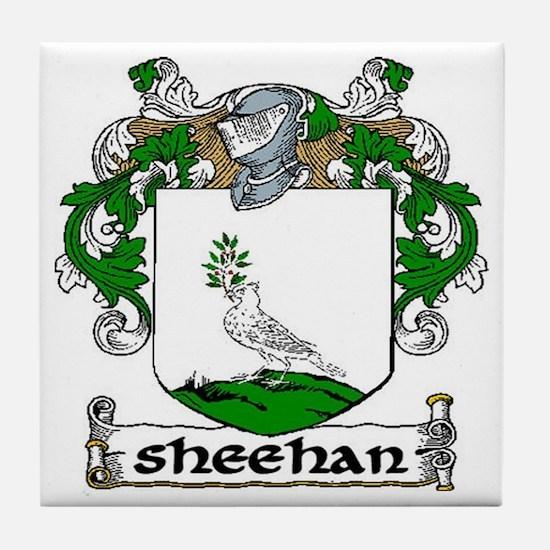 Sheehan Coat of Arms Ceramic Tile
