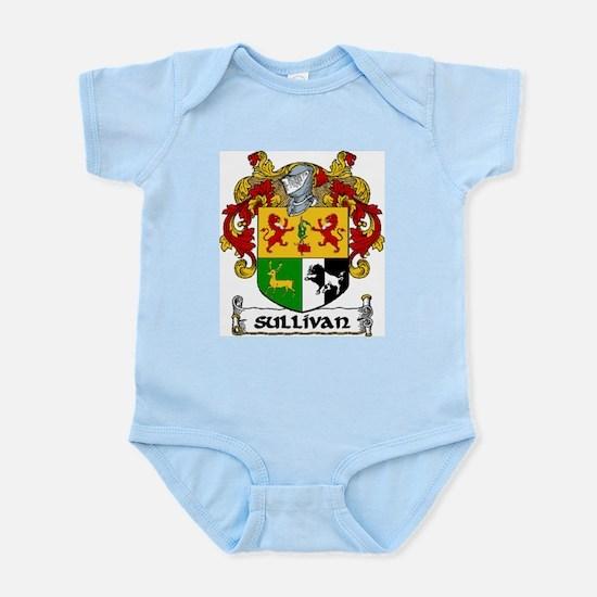 Sullivan Coat of Arms Infant Creeper
