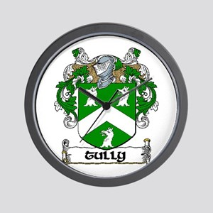 Tully Coat of Arms Wall Clock