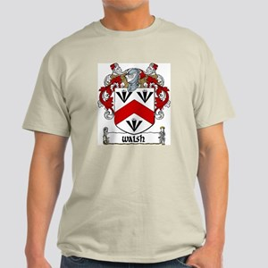 Walsh Coat of Arms Light T-Shirt