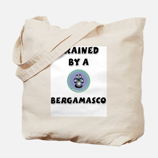 Trained by a Bergamasco Tote Bag