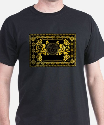 Gold Medusa T-Shirt