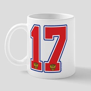 RU Russia Hockey 17 Mug