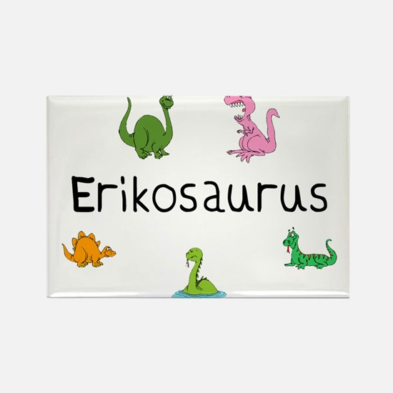 Erikosaurus Rectangle Magnet