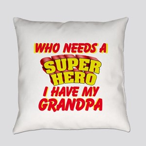 SUPER HERO PERSONALIZE Everyday Pillow
