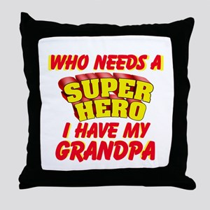 Super Hero Personalize Throw Pillow