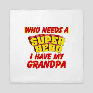 SUPER HERO PERSONALIZE Queen Duvet