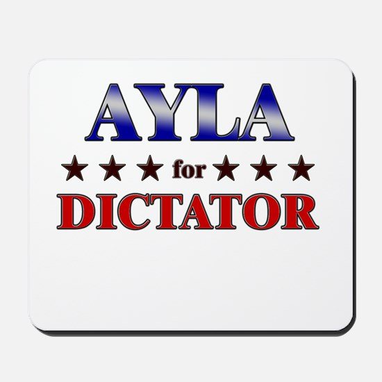 AYLA for dictator Mousepad