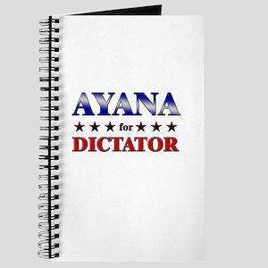 AYANA for dictator Journal