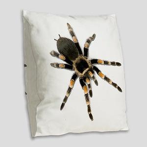 Tarantula Spider Burlap Throw Pillow