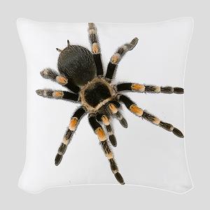 Tarantula Spider Woven Throw Pillow