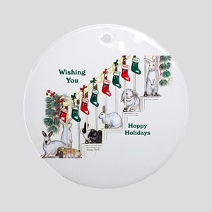 Vey Warren Ornament (Round)