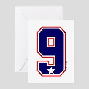 US(USA) United States Hockey 9 Greeting Card