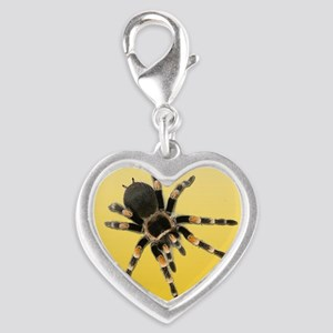 Tarantula Spider Yellow Charms